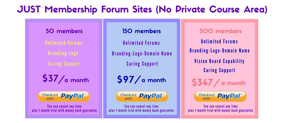 oncoa-just-membership-site-pricingused